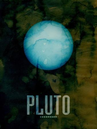 The Planet Pluto by Michael Tompsett