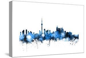 Toronto Canada Skyline by Michael Tompsett