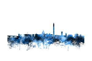 Washington DC Skyline by Michael Tompsett