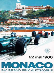 24e Grand Prix, 1966, Monaco by MICHAEL TURNER