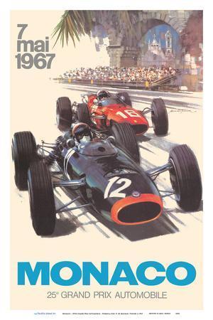 Monaco - 25th Grand Prix Automobile - Formula One F1