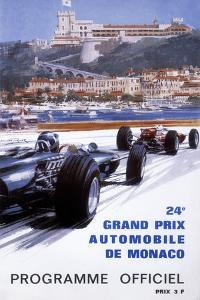 The Official Programme for the 24th Monaco Grand Prix, 1966 by Michael Turner
