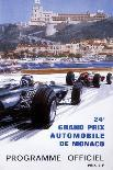 Monaco - 25th Grand Prix Automobile - Formula One F1-Michael Turner-Giclee Print