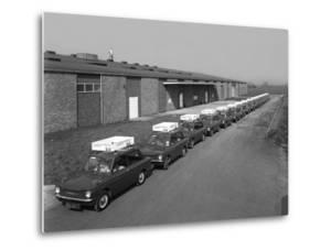 A Fleet of 1965 Hillman Imps, Selby, North Yorkshire, 1965 by Michael Walters