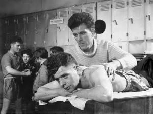 After the Fight, the Horden Colliery Training Gym, Sunderland, Tyne and Wear, 1964 by Michael Walters