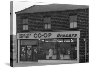 Barnsley Co-Op, Park Road Branch Exterior, Barnsley, South Yorkshire, 1961 by Michael Walters
