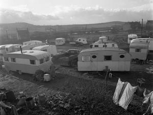 Caravan Site, Mexborough, South Yorkshire, 1961 by Michael Walters
