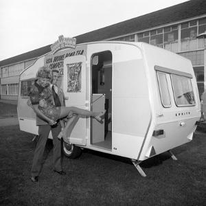 Caravan Winners, Rotherham, South Yorkshire, 1972 by Michael Walters