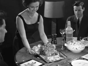 Dinner Served, 1964 by Michael Walters