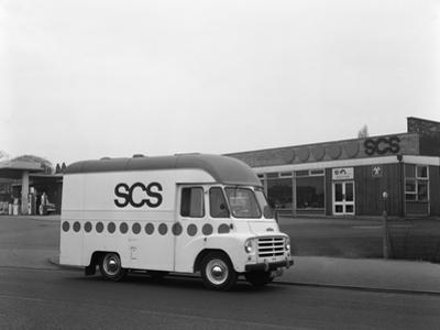 Early 1960S Austin Ld High Top Van (Mobile Shop), Scunthorpe, Lincolnshire, 1965 by Michael Walters