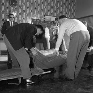 First Aid Competition, Mexborough, South Yorkshire, 1961 by Michael Walters