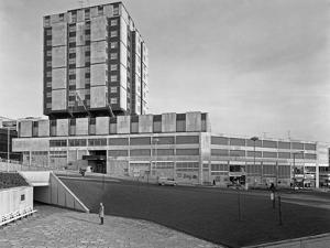 Grosvenor House Hotel, Charter Square, Sheffield, South Yorkshire, 1968 by Michael Walters