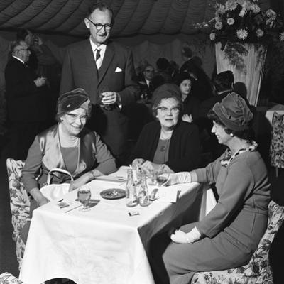 Group at a Social Function, Spillers Foods, Gainsborough, Lincolnshire, 1962 by Michael Walters