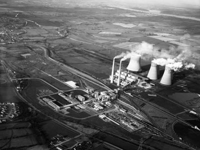 Lea Hall Colliery and Rugeley a Power Station, Staffordshire, 1963 by Michael Walters