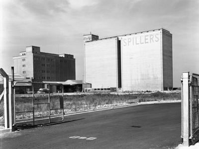 Main Mill Buildings at Spillers Animal Foods, Gainsborough, Lincolnshire, 1965 by Michael Walters