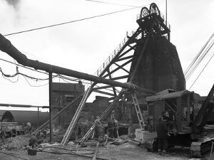 Markham Main Colliery, Doncaster, South Yorkshire, 1956 by Michael Walters