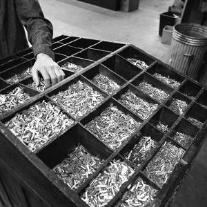 Set Type Broken Up after Use, the White Rose Press, Mexborough, South Yorkshire, 1968 by Michael Walters