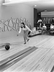 Silver Blades Bowling Alley, Sheffield, South Yorkshire, 1965 by Michael Walters