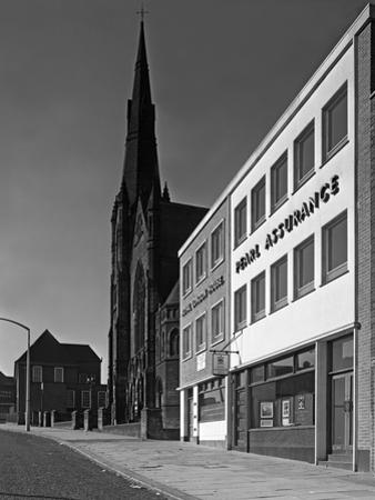 The Royal Insurance Building in Moorgate, Rotherham, South Yorkshire, 20 July 1962 by Michael Walters