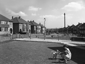 Urban Regeneration, Cresswell Estate, Swinton, South Yorkshire, 1963 by Michael Walters