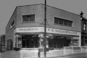 Woolworths Store, Parkgate, Rotherham, South Yorkshire, 1957 by Michael Walters