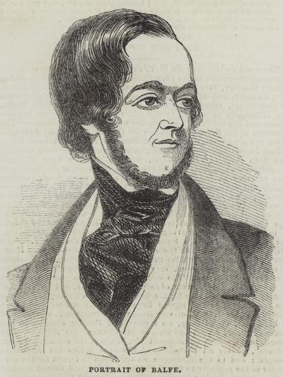 Michael William Balfe--Giclee Print