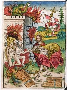 Christ in Limbo, 1491 by Michael Wolgemut Or Wolgemuth