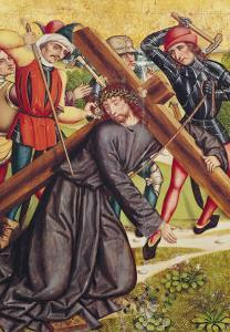 The Carrying of the Cross by Michael Wolgemut Or Wolgemuth