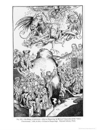 The Reign of Antichrist, from the Liber Chronicarum, Published in 1493