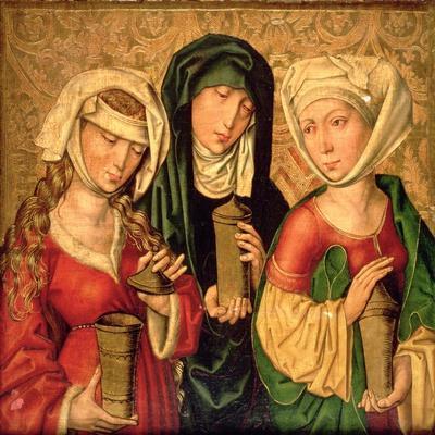 The Three Marys on Gold Ground Panels