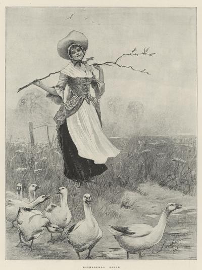 Michaelmas Geese-Robert Sauber-Giclee Print