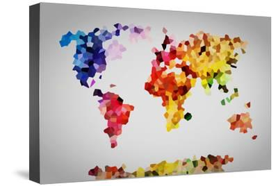 Low Poly Colorful World Map. by Michal Bednarek