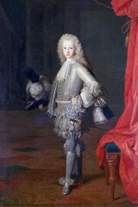 Louis I, Prince of the Asturias, King of Spain, 1717 by Michel-ange Houasse