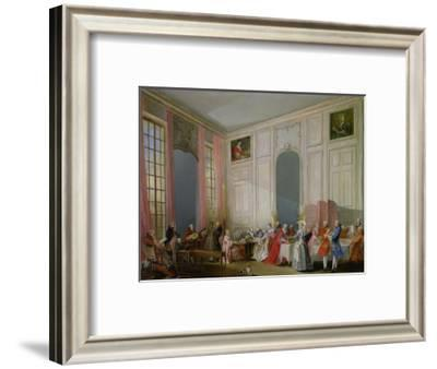 The English Tea (Le the a L'Anglaise) and a Society Concert at the House of the Princesse De Conti