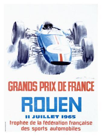 Rouen F1 Grand Prix, c.1965 by Michel Beligond