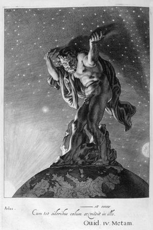 Atlas Supports the Heavens on His Shoulders, 1655