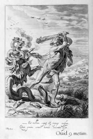 Hercules and the Hydra, 1655