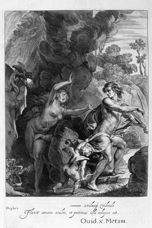 Orpheus, Leading Eurydice Out of Hell, Looks Back Upon Her and Loses Her Forever, 1655