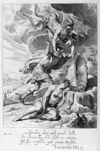 Perseus Cuts Off Medusa's Head, 1655 by Michel de Marolles