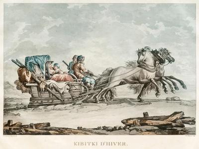 Kibitka, 1810s