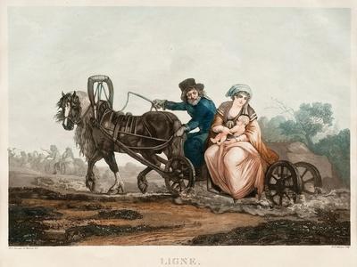 Sledge Driving, 1830-1840S