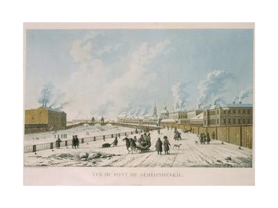 The Semyonovsky Bridge in Saint Petersburg, 1813