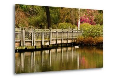 Bridge, Crystal Springs Lake, Rhododendron Garden, Portland, Oregon