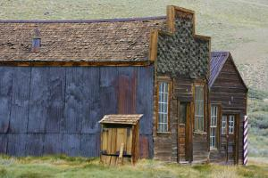 Ghost Town buildings, Bodie State Historic Park, Bodie, California by Michel Hersen