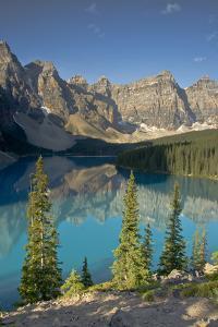 Morning, Moraine Lake, Banff National Park, Alberta, Canada by Michel Hersen
