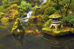 Portland Japanese Garden, Portland, Oregon, USA by Michel Hersen
