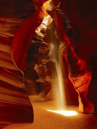 Slot Canyon, Upper Antelope Canyon, Page, Arizona, USA by Michel Hersen
