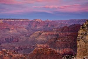 Twilight, Hopi Point, South Rim, Grand Canyon NP, Arizona, Golden Hour by Michel Hersen
