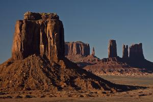 View from Artist's Point, Buttes, Monument Valley, Arizona, USA by Michel Hersen