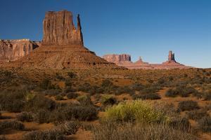 West Mitten, Monument Valley Navajo Tribal Park, Arizona by Michel Hersen